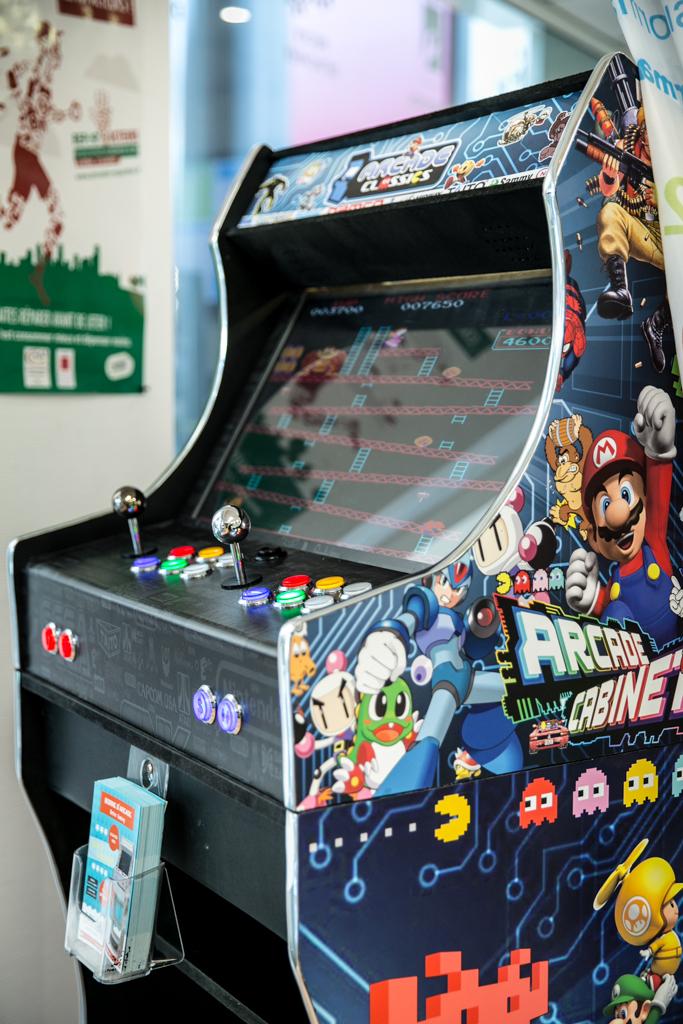 Vente et location de borne d'arcade Angers