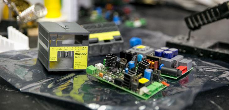 Réparation boitier électronique MOOVO MCI1