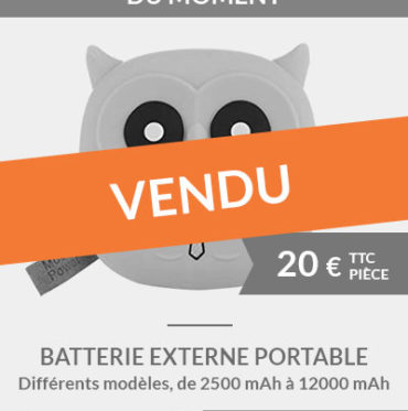 Batteries externes portables