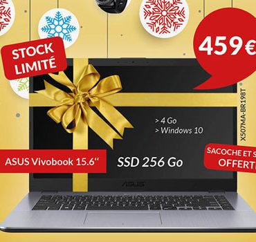 """Offre de Noêl : ordinateur portable ASUS Vivobook 15.6"""""""