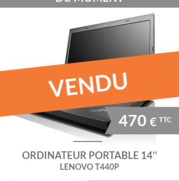 Ordinateur portable 14'' LENOVO T440P d'occasion