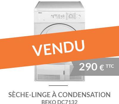 Sèche-linge à condensation BEKO DC7132 d'occasion