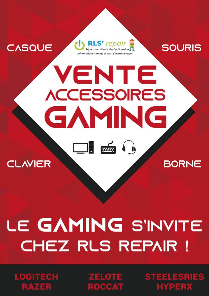 vente accessoires gaming
