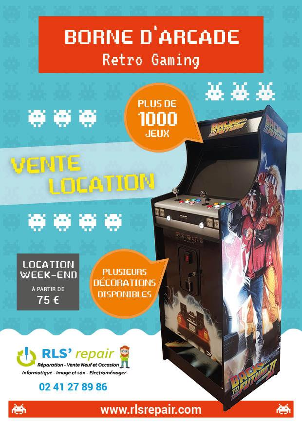 Fabrication borne arcade Angers