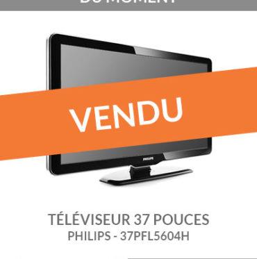 Occasion : téléviseur PHILIPS 37PFL5604H 37 pouces