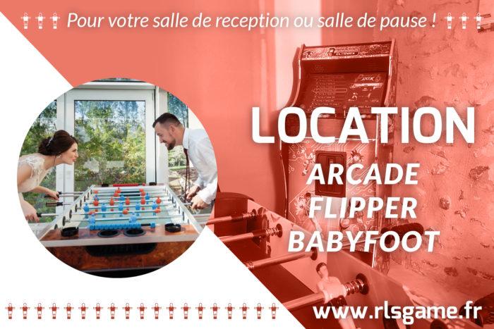 Location jeux de café près d'Angers