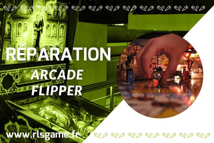 Réparation flipper et arcade Angers