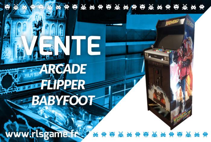 Vente de jeux de café et arcade vintage neufs ou d'occasion près d'Angers